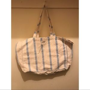 Sezane Canvas Tote Bag
